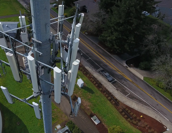 Cell Tower Inspection - Telecom Industry - Everdrone